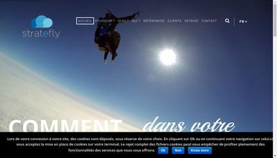 Site internet de Stratefly
