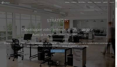 Site internet de Strateg In