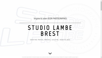 Site internet de Studio Lambe