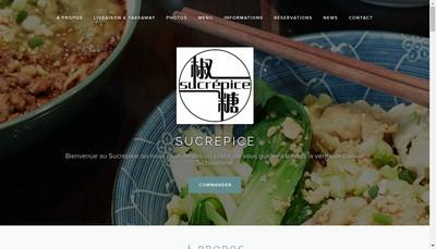 Site internet de Sucrepice