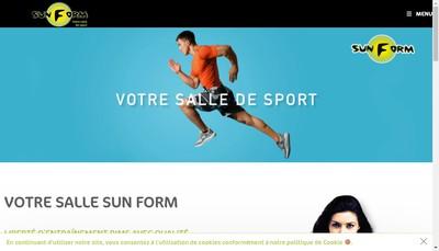 Site internet de Form'Concept