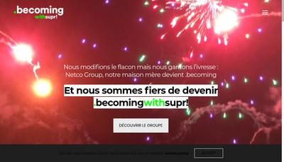 Site internet de Supr !