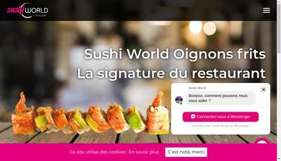 Site internet de Sushi World