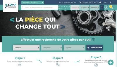 Site internet de Swap