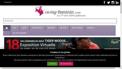 Site internet de Media Direct Editions