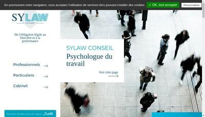 Site internet de Sylaw Conseil