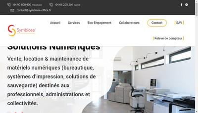 Site internet de Symbiose SARL