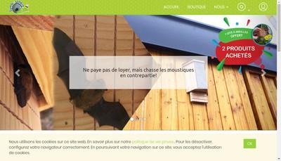 Site internet de Symbiosphere