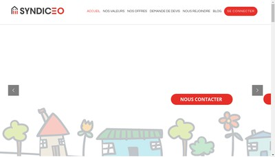 Site internet de Syndiceo