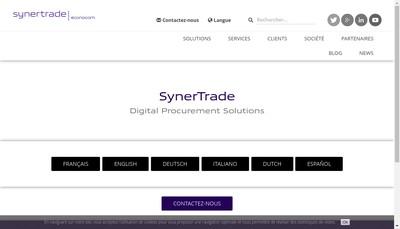 Site internet de Synertrade
