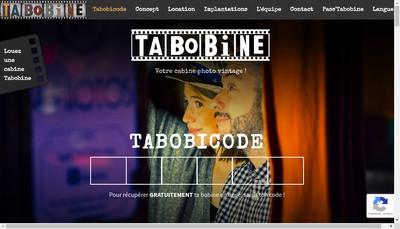 Site internet de Tabobine