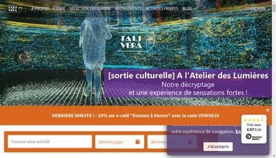 Site internet de Talivera