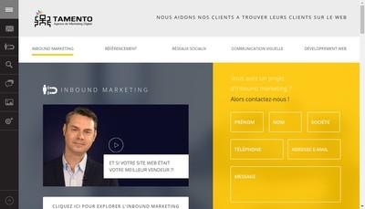 Site internet de Tamento