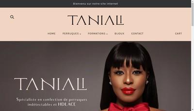 Site internet de Taniali