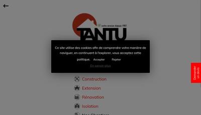 Site internet de Tantu