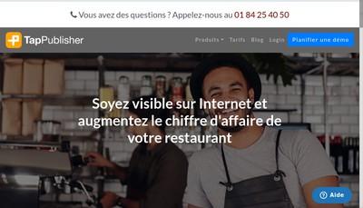 Site internet de Tappublisher