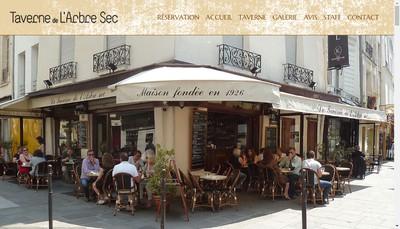 Site internet de La Taverne de l'Arbre Sec