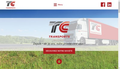 Site internet de Tc Transports