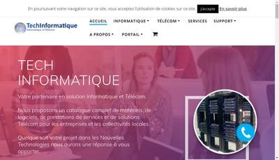Site internet de Techinformatique
