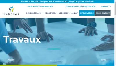 Site internet de Tecnizy