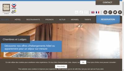Site internet de Maison de Zoe