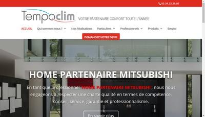 Site internet de Tempoclim