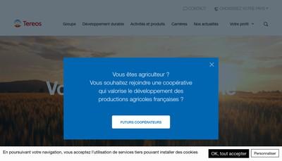 Site internet de Tereos France