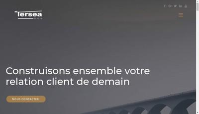 Site internet de Tersea Beauvais