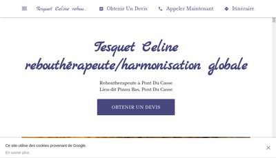 Site internet de Celine Tesquet