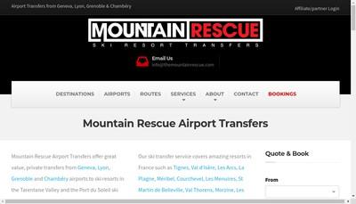 Site internet de 1 Mountain Rescue 2 Bonfire Campervans