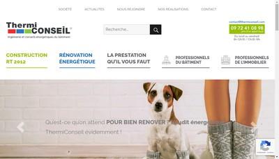 Site internet de Thermiconseil France