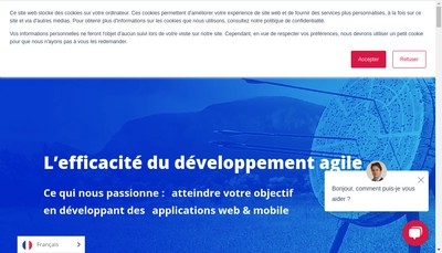 Site internet de Vamboisset Media