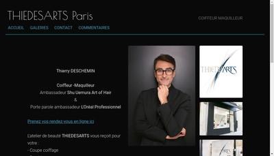 Site internet de Thiedesarts