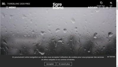 Site internet de Tigreblanc