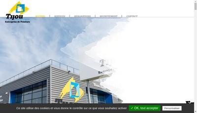 Site internet de Tijou Nantes