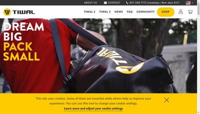 Site internet de Tiwal