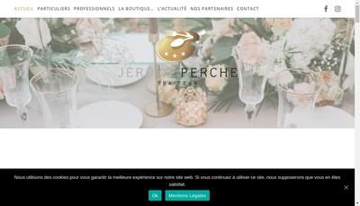 Site internet de Tjp Traiteur