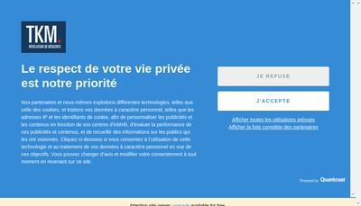 Site internet de Tkm Consulting