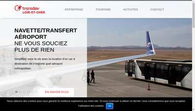 Site internet de Transdev Loir et Cher