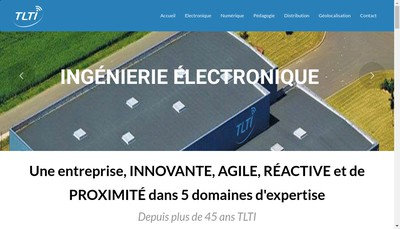 Site internet de Tlti Informatique