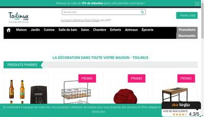 Site internet de SARL Toilinux