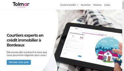 Site internet de Tolmar Courtage