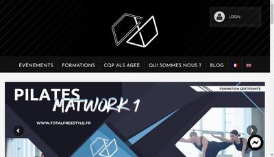 Site internet de Total Freestyle Events