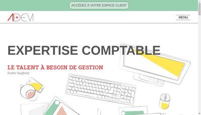 Site internet de Adem Expertise