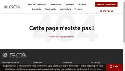 Site internet de Marechal Automobiles Eaubonne