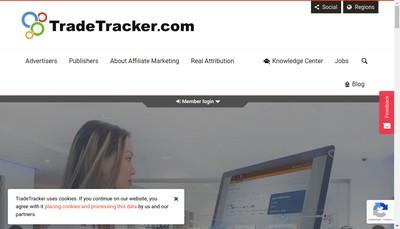 Site internet de Tradetracker France
