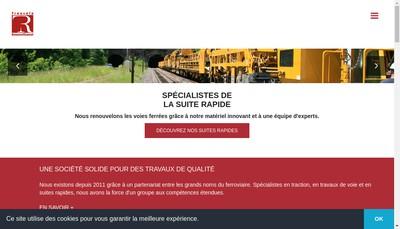 Site internet de Transalp Renouvellement