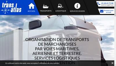 Site internet de Transatlas