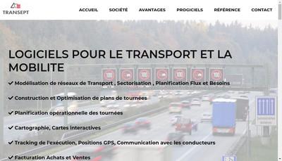 Site internet de Transept Informatique