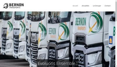 Site internet de Groupe Charente Transport-Gct